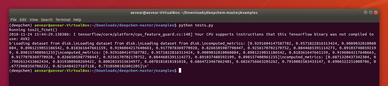 File Window on Deepchem